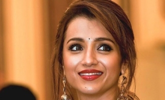 Trisha shares video of her fan's unbelievable skill
