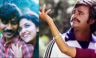 Dhanush-Keerthy Suresh to replace Rajini-Menaka in cult classic sequel?