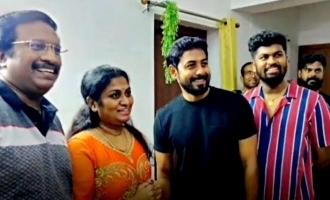 ரசிகரின் பிறந்த நாளில் இன்ப அதிர்ச்சி கொடுத்த ஆரி: வைரல் வீடியோ!