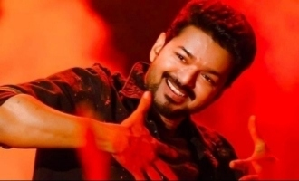 'Bigil' actress's unique birthday gift to Thalapathy Vijay