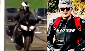 Is Thala Ajith's bike accident video from 'Valimai' shoot leaked out?