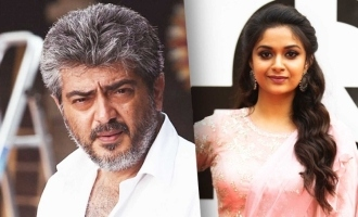 Keerthy Suresh confirmed for Thala Ajith movie remake?