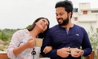 Alya Manasa gets a cute birthday surprise from Sanjeev!