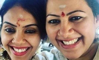 பிக்பாஸ் அர்ச்சனா வீட்டில் நடந்த விசேஷம்: குத்தாட்டம் போட்டு கலந்து கொண்ட ஆரி!