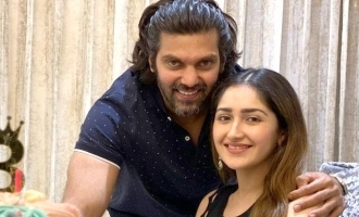 Star couple Arya and Sayeesha blessed with baby - Vishal breaks the happy news to the world