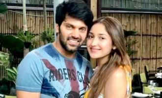 Arya's loving bday message to Sayyeshaa and her cute reply
