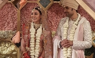 Kajal Aggarwal and Gautam Kitchlu get married, photos viral!