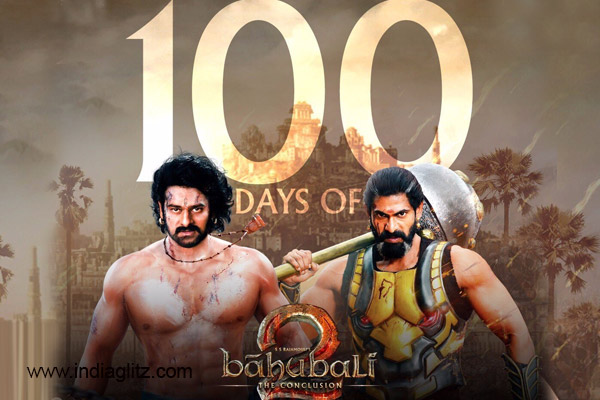 100 Days of Baahubali 2! Details of Collections made in TN