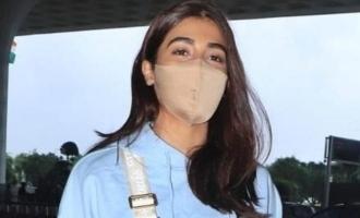 'பீஸ்ட்' படத்தின் 3ஆம்கட்ட படப்பிடிப்பு: பூஜா ஹெக்டே பகிர்ந்த புகைப்படம்!