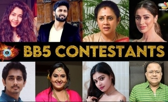 Talks started with this list of celebrities for 'Bigg Boss 5' ?