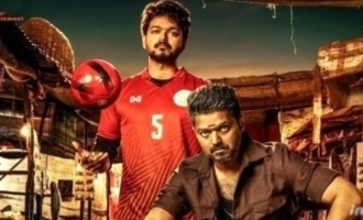 Thalapathy Vijay Telugu fans erect a huge cutout for 'Bigil' - details