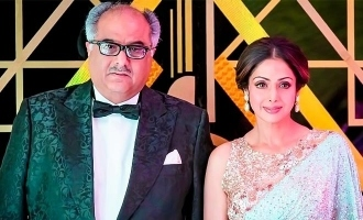 """I wish you were with us"" - Boney Kapoor's emotional message on Sridevi!"