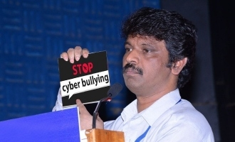 Director Cheran rises against cyber bullying!