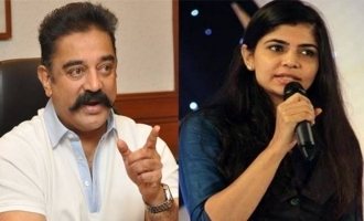 Chinmayi takes the attack to Kamal Haasan
