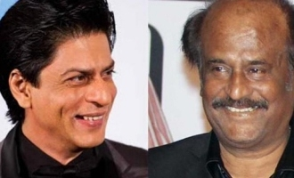 Shahrukh Khan promises to take this cricketer to Rajnikanth's house!