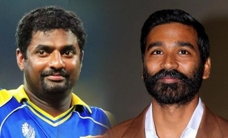 Dhanush was approached for Muttiah Muralitharan biopic?