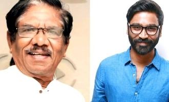 Legendary director Bharathiraja joins the cast of Dhanush's next film! - Full Details