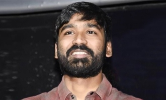 Dhanush's dropped film poster turns viral!