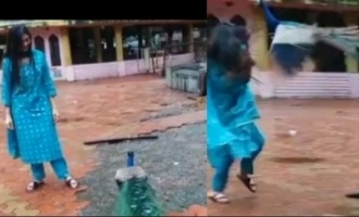 'Bigg Boss' actress suddenly attacked by peacock video goes viral