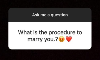 What is the procedure to marry you? Actress reply!