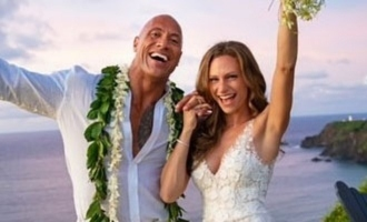 Dwayne The Rock Johnson gets married