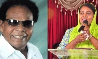 முதல்முறையாக பொதுமீடியாவில் தலைகாட்டிய குமரிமுத்து மகள்: வைரலாகும் வீடியோ