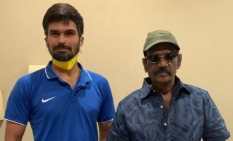 Gaundamani  gives famous cricketer a rare surprise during lockdown