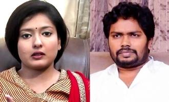 """It's you who provokes Muslims"" - Gayathri Raghuram attacks Pa Ranjith!"