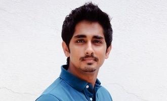 முதல் பட நாயகியுடன் வீடியோகாலில் பேசி மகிழ்ந்த சித்தார்த்!