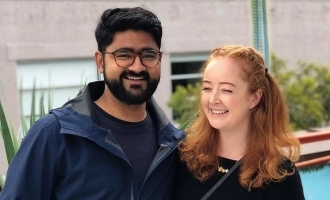 [PICTURES] Indian man who proposed to Australian girlfriend during ODI shares their love story