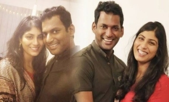 Vishal's wedding stopped? - Dad G.K. Reddy opens up