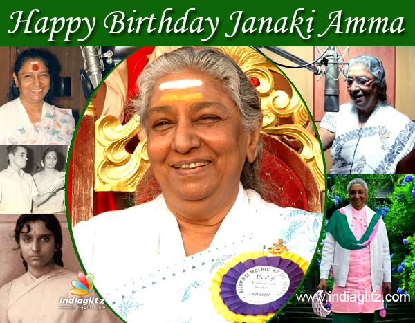 happy birthday janaki amma tamil news glitz com
