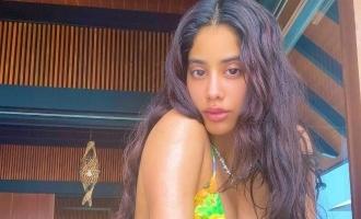 ஐலேண்ட் கேர்ள்: மாலத்தீவில் இருந்து ஜான்வி கபூர் பதிவு செய்த அடுத்த போட்டோ!