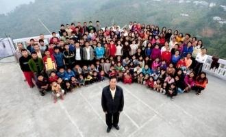 39 மனைவிகள், 94 குழந்தைகள் கொண்ட உலகின் பெரிய குடும்பத் தலைவன் மறைந்த சோகம்!