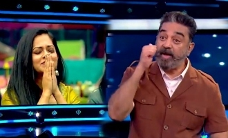 Kamal Haasan's surprise claps and appreciation for Bigg Boss 4 Anitha Sampath!