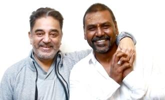 After Darbar speech, Raghava Lawrence meets Kamal Haasan!