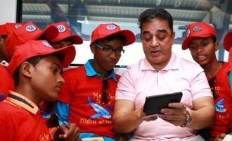 Kamal Haasan fulfills wishes of kids!