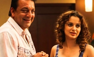 """""""Sanjay Dutt is healthy and handsome"""" reveals Kangana, sharing lovely photo!"""