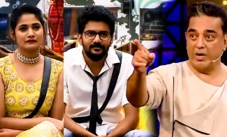 Bigg Boss 3 late night kurumpadam for Kavin - Losliya from Kamal!