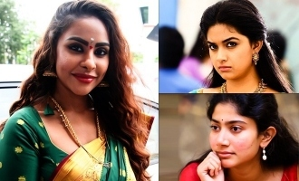 Sri Reddy's controversial post on Keerthy Suresh and Sai Pallavi
