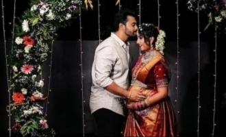 Tamil serial actress baby shower function held on Mother's Day