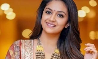 கீர்த்தி சுரேஷின் 3 நிமிட யோகா வீடியோ வைரல்!