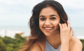 Keerthy Suresh's classy, glam photoshoot at home stuns Netizens!