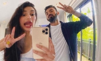 Popular actress shares pictures with boyfriend KL Rahul on his birthday