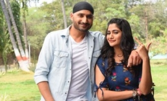 Losilya's photos with Harbhajan Singh goes viral