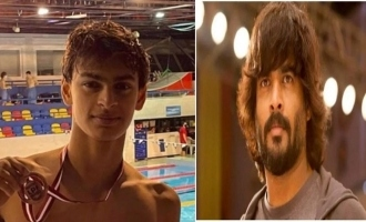 Madhavan's son Vedaant does India proud once again