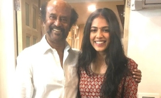 Superstar Rajinikanth's fitness tips to 'Master' girl  Malavika Mohanan