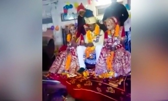 [VIDEO] Man marries two sisters on the same stage simultaneously