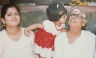 Can you identify a hot young Simbu-Dhanush heroine from this childhood photo?
