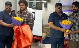 Vijay and Vijay Sethupathi latest looks from Master turn viral!